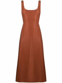 Gabriela Hearst платье A-силуэта с квадратным вырезом 321414W055