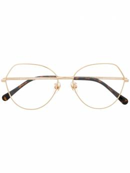 Stella Mccartney Eyewear очки в оправе 'кошачий глаз' SC50003U