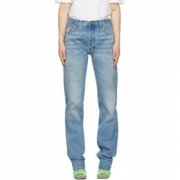 The Attico Blue Boyfriend Jeans 211WCP12 - D016 - 177