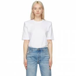 The Attico White Bella T-Shirt 211WCT04 - C023 - 001