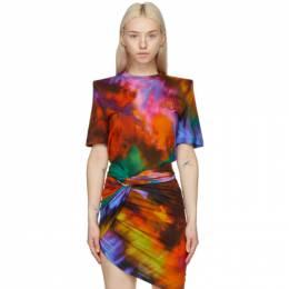The Attico Multicolor Bella T-Shirt 211WCT04 - P043 - 154