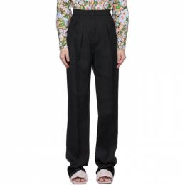 Sportmax Black Ovale Trousers 21310517600 MM10322