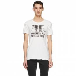 Ksubi Off-White New NYC T-Shirt 5000005793