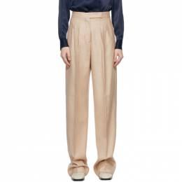 Max Mara Beige Wool and Silk Josef Trousers 11310411600 10274