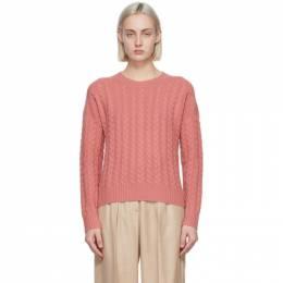 Max Mara Pink Wool and Cashmere Breda Sweater 13610111600 12065