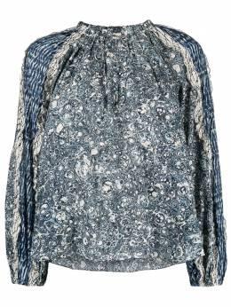 Ulla Johnson блузка с принтом PS210211