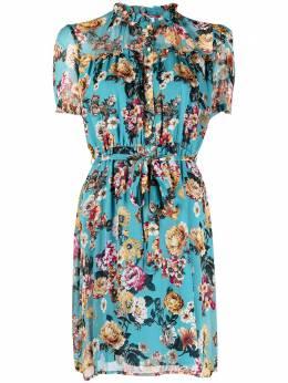 Liu Jo платье с завязками и цветочным принтом WA1545T5441