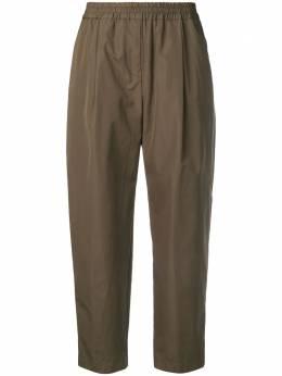 Aspesi укороченные прямые брюки H115D307