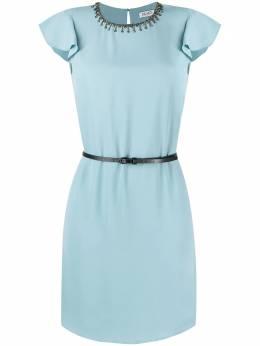 Liu Jo короткое платье с поясом WA1561T9767