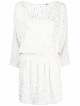 Liu Jo короткое платье в горох WA1066T4820