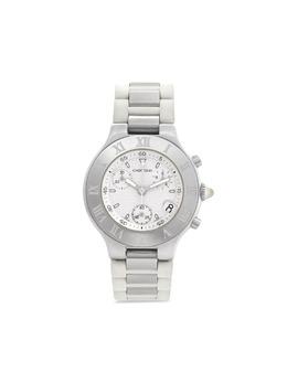 Cartier наручные часы Must 21 pre-owned 38 мм 2005-го года W10184U2