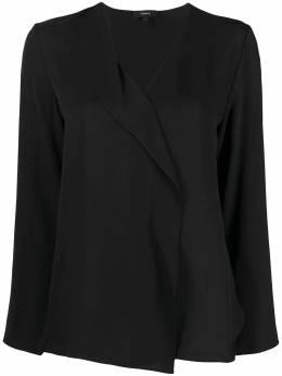 Theory блузка с V-образным вырезом K1102508