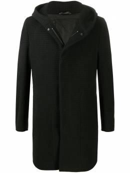 Tagliatore пальто в клетку с капюшоном CLIFT77FIC228