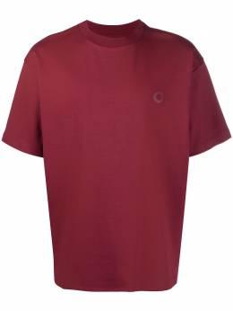 Drole De Monsieur футболка с нашивкой-логотипом SS21TS002BY