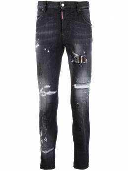 Dsquared2 джинсы скинни с прорезями S74LB0925S30503