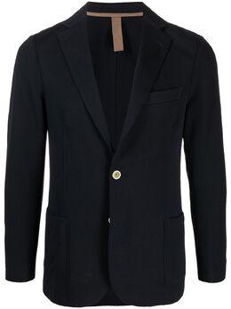 Eleventy notch-lapel single-breasted blazer C70GIAA01JAC25001