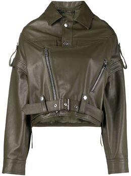 Manokhi байкерская куртка оверсайз SS21MANO195A985