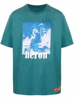 Heron Preston футболка Herons с короткими рукавами HMAA020R21JER0045749