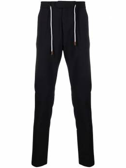 Eleventy drawstring-waist tailored trousers C75PANB21TES0A053