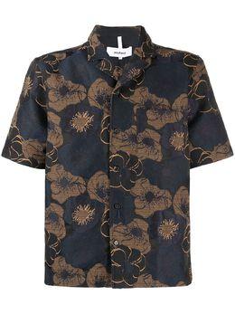 Soulland рубашка с цветочным принтом 100471064