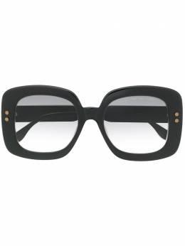 Bottega Veneta Eyewear солнцезащитные очки в квадратной оправе BV0237SA001