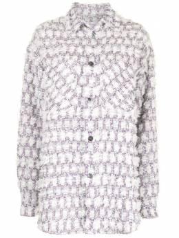Faith Connexion твидовая куртка-рубашка оверсайз X1819T00203