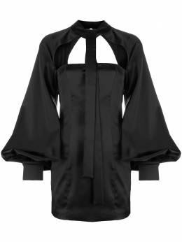 The Attico платье мини с вырезными деталями ATW18460009SB
