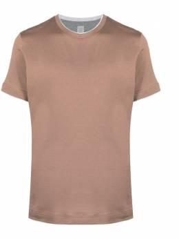 Eleventy contrast-trim cotton T-Shirt C75TSHC11TES0C174