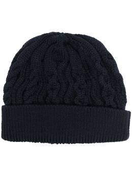 Thom Browne Aran cable knit beanie MKH064AY1006