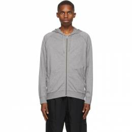 Paul Smith Grey Lounge Zip Hoodie M1A-500D-AU279Z