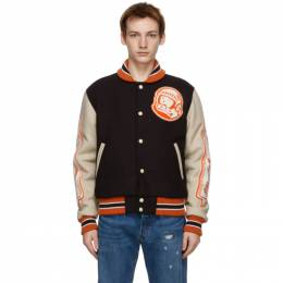 Billionaire Boys Club Brown Astro Varsity Jacket B20413