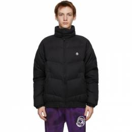 Billionaire Boys Club Black Down Canvas Classic Jacket B20407