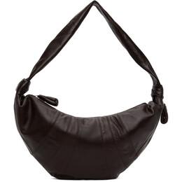Lemaire Brown Large Croissant Bag X CAO BG252 LL095