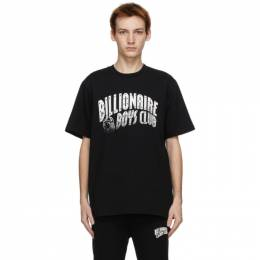 Billionaire Boys Club SSENSE Exclusive Black Logo T-Shirt B20S12