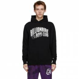 Billionaire Boys Club SSENSE Exclusive Black Arch Logo Hoodie B20S13