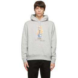 Polo Ralph Lauren Grey Polo Bear Hoodie 710829166002