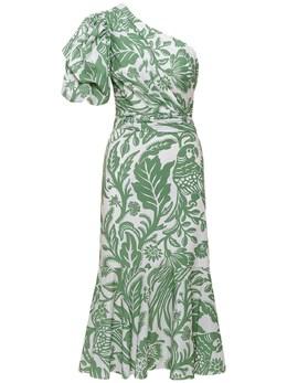 Платье Из Поплин С Оборками Johanna Ortiz 73IXD5001-R1JFRU4vSVZPUlk1