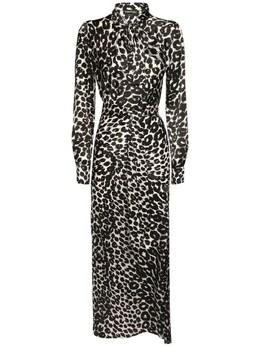 Платье Из Шелкового Атласа Tom Ford 73IMBJ001-WEFXTEI1