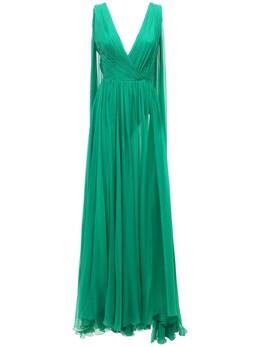Платье Из Шелкового Шифона Zuhair Murad 73ICCQ004-MTg1ODQx0