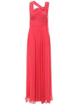 Платье Из Шёлкового Шифона Elie Saab 73IB4T010-Qk9VR0FOVklMTEU1