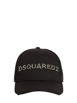 Бейсболка Из Хлопка С Логотипом Dsquared2 73IA0Y009-TTM5MQ2