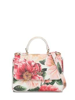 Сумка Из Лакированной Кожи С Принтом Dolce&Gabbana 73I6T9034-SEEyQUk1