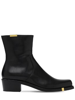 Кожаные Ботинки Rochas 72IX58012-MDAx0