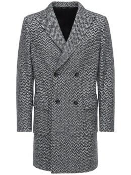 Двубортное Шерстяное Пальто Tonello 72IM87001-OTAw0