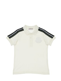 Рубашка Поло Из Хлопка Пике Moncler 72IIKM043-MDM00