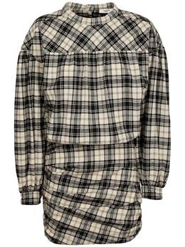 Платье Из Смешанного Хлопка Isabel Marant Etoile 72IE1B035-QktFQw2