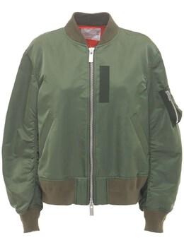 Куртка Бомбер Из Нейлона Sacai 73IXYE010-NTAx0