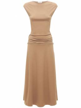 Платье-миди Из Джерси Lemaire 73IWBO019-NDUzIFNBRkFSSSBCUk9X0