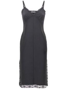 Платье Миди С Кружевом Alexander Wang 73I5BR012-MDAx0