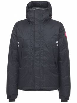 Mountaineer Hooded Nylon Down Jacket Canada Goose 72I0LF028-NjE1